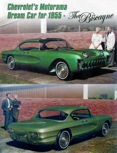 1955 Chevrolet Biscayne- Still cant believe they built this car. its a classic now if anyone has one.(one is the key word, they built only prototypes)