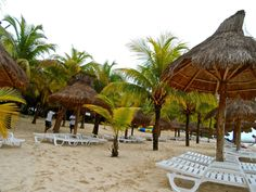 Nachi Cocum private beach. Cozumel, Mexico. We were there last Monday, it was amazing!!!