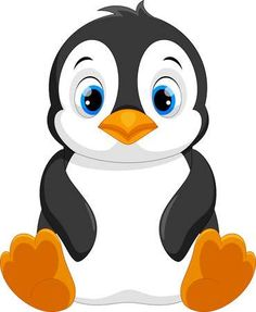 Illustration about Vector illustration of cute baby penguin cartoon sitting isolated on white background. Illustration of cartoon, daughter, family - 104296220 Cartoon Cartoon, Cute Penguin Cartoon, Cute Baby Penguin, Penguin Images, Penguin Pictures, Cute Penguins, Cartoon Drawings, Cute Drawings, Animal Drawings