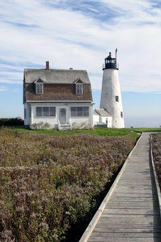 Wood Island Lighthouse - Biddeford Pool, Maine