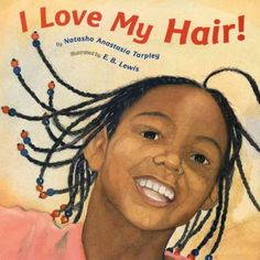 A young African American girl describes the different, wonderful ways she can wear her hair.