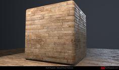 ArtStation - Substance Designer - Old Wood Floor, Kurt Kupser