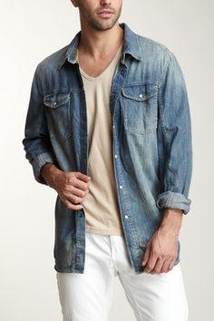 denim shirt for my man