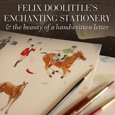 Meet Felix, the artist and horse-lover behind Felix Doolittle.