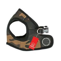 The Puppia Soft Vest Harness Camo is Puppia's best selling harness for dogs made of super soft polyester air-mesh and available in a variety of sizes. The Puppia Soft Dog Harness Vest is a jacket style harness featuring a backside chest belt wi Moving With A Dog, Camouflage, Fashion Leaders, Cat Supplies, Pet Collars, Dog Harness, Dog Bed, Blue Stripes, Vest