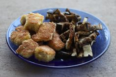 This post also could have been titled: Double-dipped Coconut Fish Nuggets and Eggplant Fries I know, fish nuggets and eggplant fries don't sound like the most delectable dinner you've e…