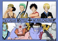 One Piece - Decisive Battle in Arlong Park by SergiART on deviantART