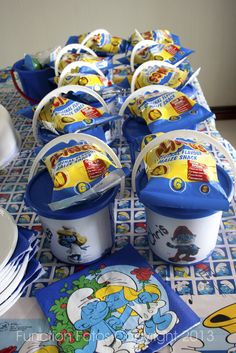 Smurf Party packs