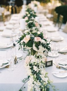 Venue, Fisher Island Club; Florist and Planner, Ocean Flowers & Events; Photo: Kat Braman - Florida Wedding http://caratsandcake.com/AllyandMichael