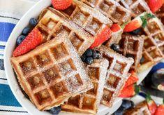 Belgiska våfflor | Fredriks fika - Allas.se Swedish Recipes, Tart, Waffles, Lunch, Breakfast, Food, Morning Coffee, Pie, Eat Lunch