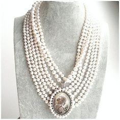 """Комплект жемчужных ожерелий """"Great Gatsby"""""""