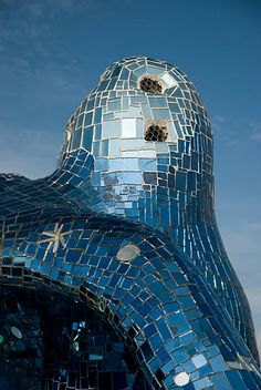 Giardino dei Tarocchi. Sculpture garden by Niki de Saint Phalle