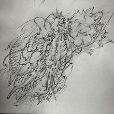 创作草图半甲