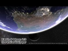 Earth & Moon in HD Gyro 3D Parallax Live Wallpaper – Applications Android sur GooglePlay