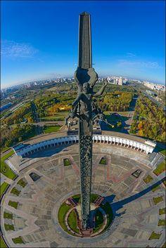 Стелла на Поклонной горе (airpano.ru)