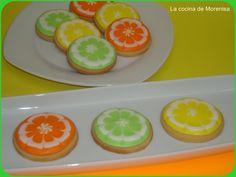 LA COCINA DE MORENISA: Galletas Lima, Limón o Naranja