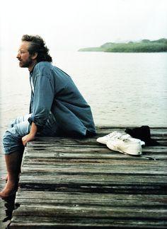 Steven Spielberg photographed by Annie Leibovitz, 1994.