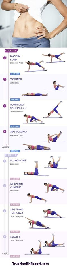 10-minute-flat-belly-workout The Beachbody Challenge Health & Wellness Weight Loss & Fitness Exercises Weight Loss Tips  Weight Loss