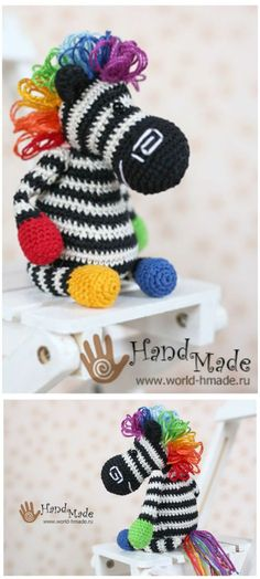 26 Free Crochet Zebra Patterns / Hat, Blanket, Amigurumi - DIY & Crafts
