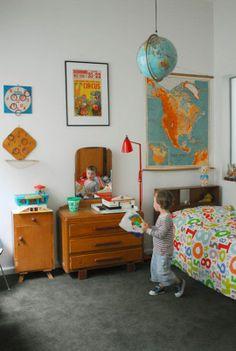 love this little boy's room