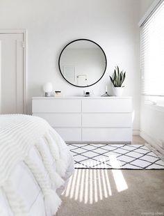 ZEN ROOM: Ideas for a Zen bedroom House decoration ideas ideas # for . - ZEN ROOM: Ideas for a Zen bedroom House decoration ideas ideas - Simple Bedroom Decor, Decor Room, Bedroom Ideas, Bedroom Designs, Bedroom Inspo, Simple Bedrooms, Ikea Room Ideas, Ikea Bedroom Design, Ikea Decor