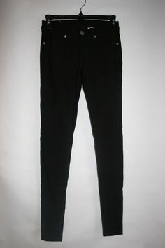 ab307a91e5a052 Women's black skinny pants Size 1/2 #fashion #clothing #shoes #accessories