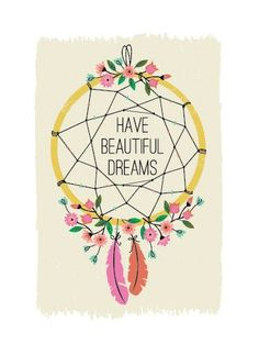 dreamcatcher, boho style, bohemian girl, dreams, bohemian style, decoration, home design in boho style, illustration, have a beautiful dreams