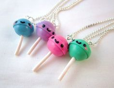 Hi hi, such super sweet kawaii jewelry made by DoodieBear!