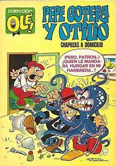 Portada del número 1 por Ibáñez © 1971 EDITORIAL BRUGUERA, S. A., sus diseñadores e ilustradores