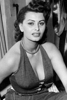 Beautiful Sophia Loren ! ❤