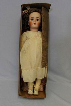 """Factory Orig. in Box 25"""" Early Heinrich Handwerck Doll c1915 BEBE COSMOPOLITE"""