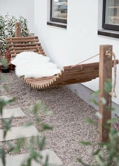 Hamaca madera