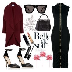 """""""Untitled #271"""" by poorvashikalra ❤ liked on Polyvore featuring Balmain, Valentino, VALLEY, Harris Wharf London, Chanel, Nancy Gonzalez and Marc Jacobs"""