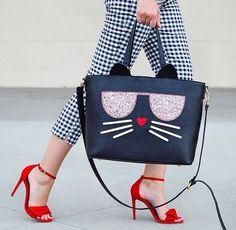cartera gato | @charmingcharlie