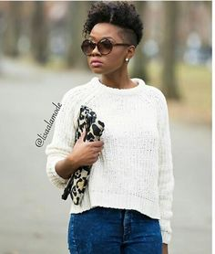 Inspirational images on natural hair ,makeup,fashion and everything linked to beauty Natural Tapered Cut, Natural Styles, Cute Hairstyles, Wedding Makeup, New Look, Curly Hair Styles, Beauty, Tops, Women