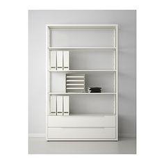 FJÄLKINGE Hylly ja laatikot - IKEA 199 € + laatikot (2 kpl) 70 €