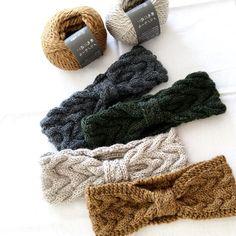 Head Accessories, Headband Hairstyles, Headbands, Knit Crochet, Diy And Crafts, Knitting, Handmade, Instagram, Tricot