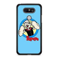 Popeye Cartoon LG G6 Case Dewantary
