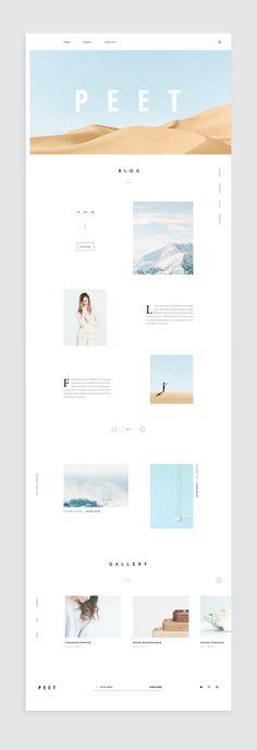 Web Design Trends Landing Pages Web Design Trends, Design Web, Layout Design, Web Design Mobile, Website Design Layout, Web Layout, Page Design, Blog Design, Blog Layout
