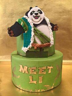 Kung Fu Panda Mania Collaboration: Meet Li - Cake by Tara Otero