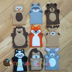 Woodland Finger Puppets *Set of 9