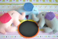 Baby Elephant chalkboard for monthly picture favor by TheMemis, $35.00