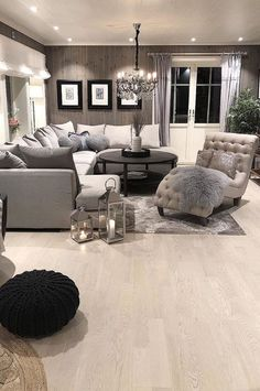 36 Most Popular Living Room Colors Ideas - Inspiration to Beautify Your Living Room Living Room Color Scheme Ideas Can Help You to Create A Living Room Ideas 2019, Paint Colors For Living Room, Living Room Inspiration, Living Room Designs, Interior Inspiration, Elegant Living Room, Living Room Modern, Home Living Room, Stylish Living Rooms