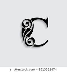 Portfólio de fotos e imagens stock de veronchick_84 | Shutterstock Alphabet, Tribal Tattoos, Beautiful, Monogram, Crafty, Lettering, Model, Vectors, Frases