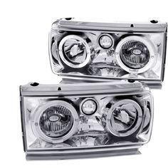Anzo USA 111092 Toyota Land Cruiser Crystal With Halo Headlight Assembly - (Sold in Pairs) Anzo Headlights, Projector Headlights, Land Cruiser Models, Headlight Assembly, Auto Insurance Companies, High Beam, Car Brands, Car Manufacturers, Performance Parts