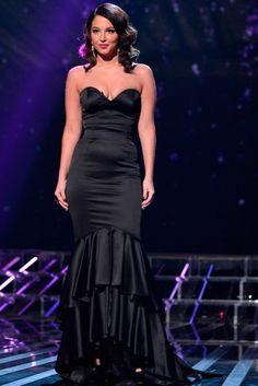 Tulisa Contostavlos on The X Factor 2012
