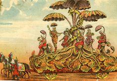 Parade Float Mardi Gras 1881