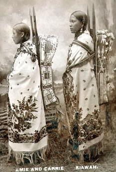 Kiowa women 1890
