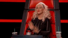 We're all hands up for Season 8! The Voice is back. Christina Aguilera is back. The best singers in the country are turning chairs and amazing our coaches.