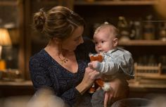 Rosalee and baby -Grimm-